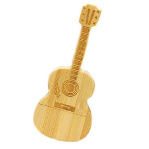 Eco Wooden Guitar USB2.0 Flash Drive Thumb Stick Storage pictures & photos