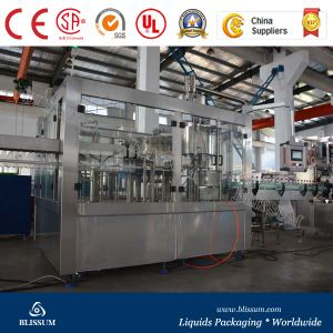 Cost Price Carbonated Water Soft Drink Filling Line pictures & photos