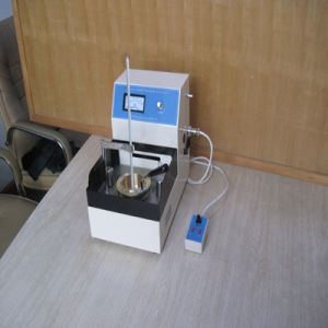 Semi-Automatic Flash & Fire Point Tester for Petroleum Products (Cleveland open cup method) pictures & photos