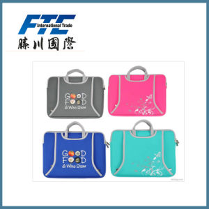 Computer Notebook Laptop Sleeve Bag Neoprene Laptop Bag with Handle pictures & photos