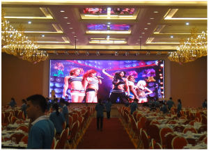 Indoor P3.91mm Use of Aluminum Cabinet 500X500mm or 500X1000mm, The Use Stage Screen. pictures & photos