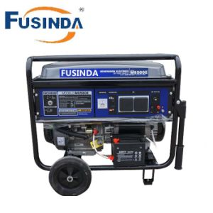 5kw 5kVA Engine Portable Gasoline Generator with Ce pictures & photos