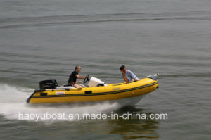 New Model 4m Rigid Inflatable Boat Rib390c PVC or Hypalon Fabrics with CE Fishing Boat pictures & photos