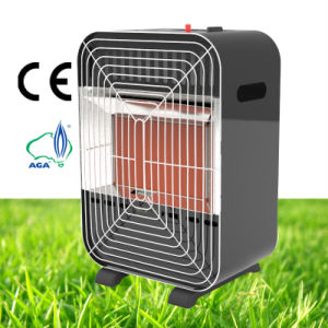 Portable Mini Indoor Black White Color Infrared Gas Heater pictures & photos
