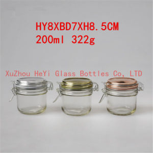 Glass Food Jar 200ml Storage Glass Jar pictures & photos