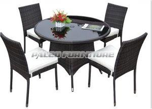 Garden Rattan Dining Set (PAD-079B)