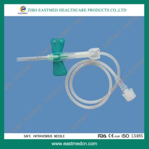Disposable Intravenous Needle, Disposable Intravenous Scalp Vein Needle with Butterfly Wing pictures & photos