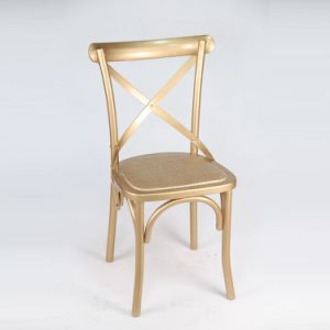 Best Selling Banquet Cross Back Chairs pictures & photos