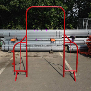 PVC Coated Steel Road Safety Crowd Control Barrier pictures & photos