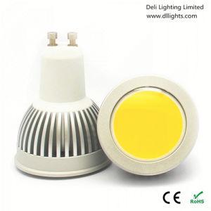 220V GU10 3W COB LED Spotlight with CE and RoHS