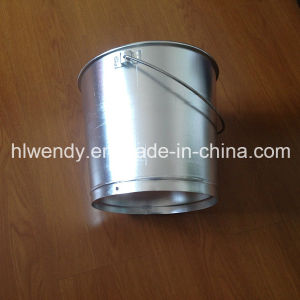 Aluminum Milk Drum with Long Handle pictures & photos