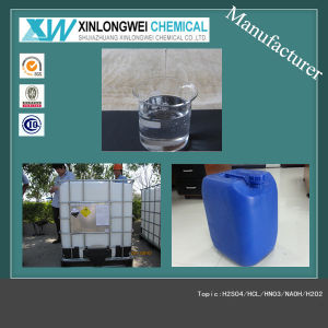 (ISO Manufacturer) Industrial&Food Grade H2O2 Hydrogen Peroxide 50%/60%/35% pictures & photos