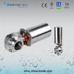 Stainless Steel Pneumatic Sanitary Valve pictures & photos