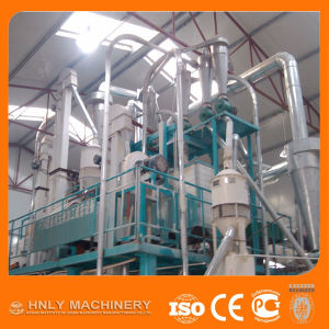 100t/D Complete Corn Milling Machinery/Maize Flour Mill Machine pictures & photos