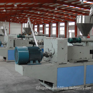 WPC Extruder Line WPC Decking Making Machine