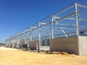 Hot DIP Galvanized Steel Shed for Australia pictures & photos