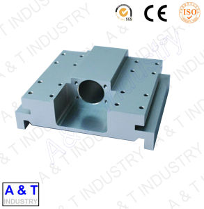 CNC Custom Precision Machine Parts CNC Machined Part Aluminum Base pictures & photos