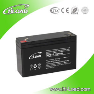 Green Energy Solar Battery 6V 10ah Lead Acid Batteries pictures & photos