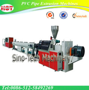 PVC Drainage Pipe Extruder Extrusion Machine pictures & photos