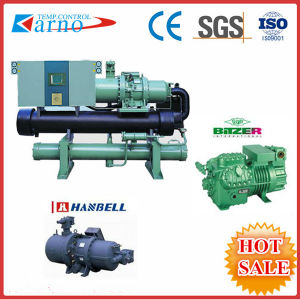 Plastic Industry Cooling Industrial Screw Water Cooled Chiller (KNR-210WS)