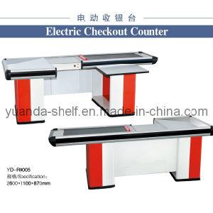 Supermarket Conveyor Belt Cashier Checkout Counter pictures & photos