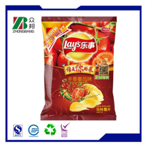 Wholesale Plastic Food Packaging Bag for Chips pictures & photos