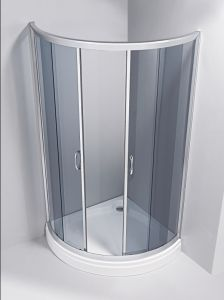 6mm Blue Glass Shower Room \Sanitary Ware\Shower Enclosure\Shower Cabin\Shower Enclosure Sliding pictures & photos