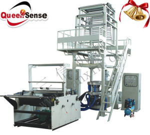 Express Bag Two Layer Plastic Film Blowing Machine Blown Film Machine pictures & photos