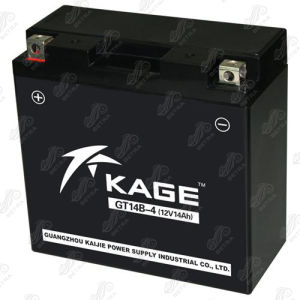 Motorcycle Battery (GT14B-4) 12V-14Ah