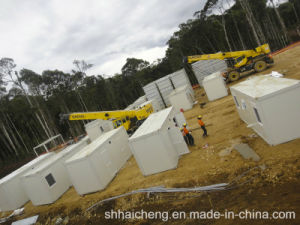 Flat Pack Container House/Folding Container House (shs-fp-dormitory020) pictures & photos