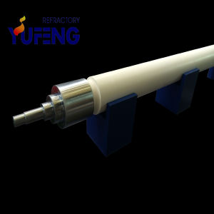 Fused Silica Quartz Ceramic Roller for Float Glass Production Line pictures & photos