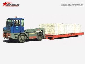 20FT 40FT RO-RO Trailer Mafi Roller Trailer for Bulk Transport pictures & photos