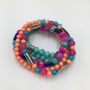 Hot Sale Colorful Beads Bracelet Plastic Jewelry Bracelet pictures & photos