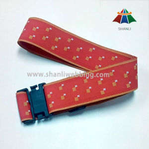 Jacquard Woven Polyester Luggage Belt, Luggage Strap pictures & photos