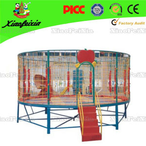 Popular High Jump Kids Sport Trampoline pictures & photos