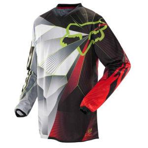 Black Customizable Racing Jersey/Motocross Racing Jersey (MAT40) pictures & photos