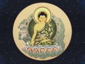 Thangka Nano Crystalized Stone Background Wall pictures & photos