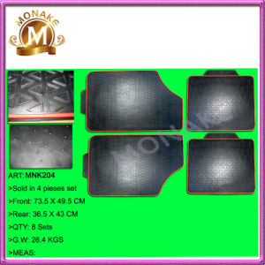Custom Auto Accessories Rubber Floor Carpet / Mats for Trucks/Cars (MNK204) pictures & photos