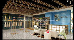 High-End Garments Showroom Display, Lady Clothing Shop Interior Design, Store Display pictures & photos