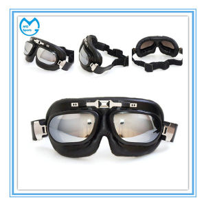 ABS Frame Mirrored Clearance Motocross Eyewear Halley Safety Goggles pictures & photos