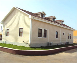 Modern Style Steel Structure Prefabricated House (KXD-116) pictures & photos