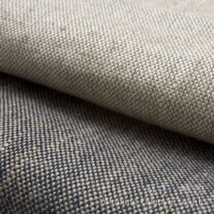 Decorative Home Textile 100% Polyester Linen Fabrics pictures & photos