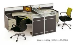 Los Angeles 5′ L Shape Office Cubicle Hot Sale pictures & photos