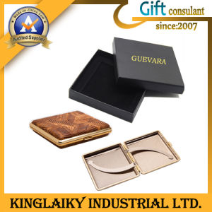 Promotional Gift Nice Cigarette Case with Titanium (LSWL-YD103) pictures & photos