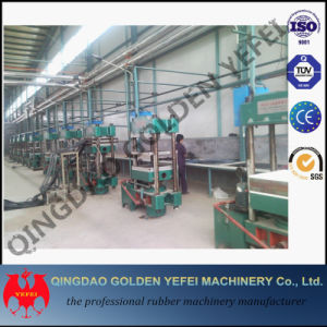 China Slab Side Vulcanizing Press Rubber Vulcanizer Machine pictures & photos