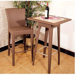 Modern Wicker Bar Furniture (BF-1011)