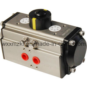 OEM Double Acting Spring Return Pneumatic Rotary Actuator for Valve (CE) pictures & photos