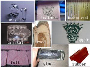 Acrylic Wood PVC Plastic Laser Engraving Wood Cutting Machine Price pictures & photos