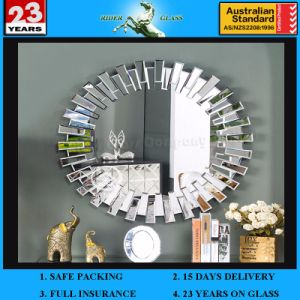 1.3-6mm Venetian Mirror Silver Aluminium Copper and Lead Free Safety Antique Mirror pictures & photos