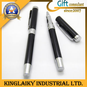Customized Popular Ball Point Pen with Printing Logo (KP-024) pictures & photos